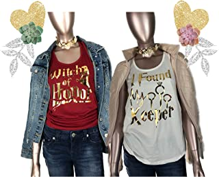 I Found A keeper Tank tops, Bride to Be, Bridesmaid Shirts, Matching Bachelorette Party, Wizard and Witch Theme Party, mischief Manged shirt