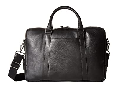 Shinola Detroit Slim Brief (Black) Briefcase Bags