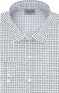 Men's Dress Shirt Slim Fit Technicole Stretch Print