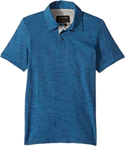 Quiksilver Kids - Drys Dale Short Sleeve Polo (Big Kids)