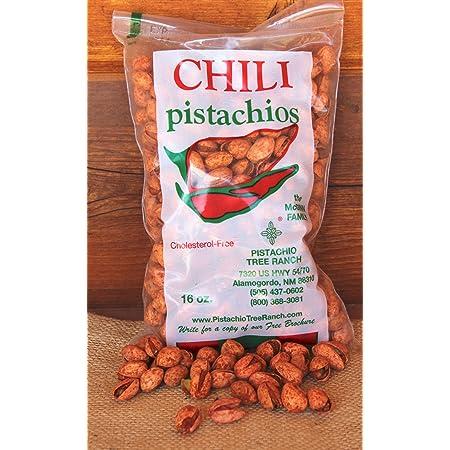 Red Chili Pistachios 16 oz. bag