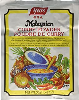 Yeo Malaysian Curry Powder (Poudre De Curry) - 1.76oz (3 packs)