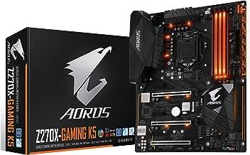 GIGABYTE AORUS GA-Z270X-Gaming K5 Gaming Motherboard LGA1151 Intel Z270 2-Way SLI ATX DDR4 Motherboard