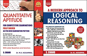 Quantitative Aptitude for Competitive Examinations with A Modern Approach to Logical Reasoning R S Agarwal S Chand Publish...
