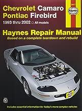 HAYNES REPAIR MANUAL for CAMARO/FIREBIRD NUMBER 24017