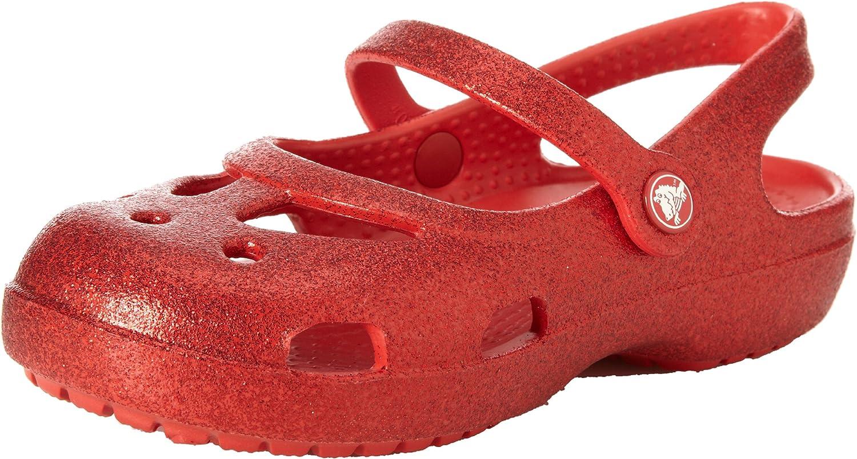 Crocs Girls' Shayna Hi-Glitter Mary Jane
