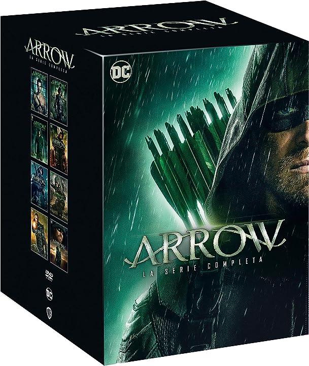 Arrow: la serie completa (stagioni 1-8) (38 dvd) B08HNXCDMQ
