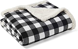 Eddie Bauer Throw, Cabin Plaid Black