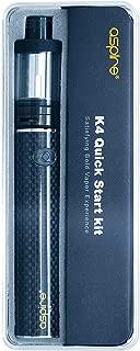 電子タバコ 爆煙 「正規品」【aspire/アスパイア】 K4 Quick Starter Kit (ブラック) ケーフォークイックスターターキット おまけ付き 本体 アトマイザー セット スターター キット vepe mod