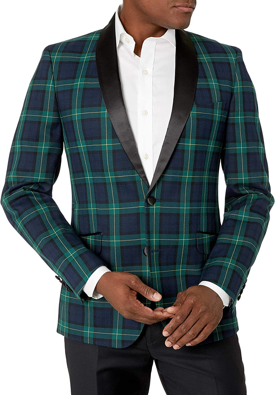 Billy London Men's Slim Fit Evening Jacket