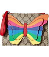 Gucci Kids - GG Butterfly Clutch (Little Kids/Big Kids)