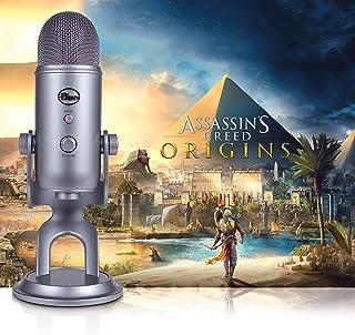 Blue Yeti USB Microphone Mic + Assassin's Creed Origins Streamer Bundle Mic + Assassin's Creed Origins Streamer Bundle Cool Grey