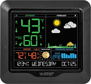 La Crosse Technology S84107 Color Forecast Station