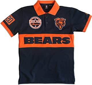 FOCO NFL Wordmark Cotton Polo