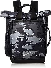 NIKE Sport Backpack - All Over Print, Anthracite/Black/Black, Misc