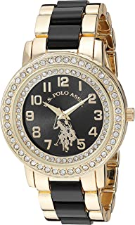 Women's Analog-Quartz Watch with Alloy Strap, Gold, 19.7...