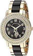 U.S. Polo Assn. Women's Analog-Quartz Watch with Alloy Strap, Gold, 19.7 (Model: USC40229)