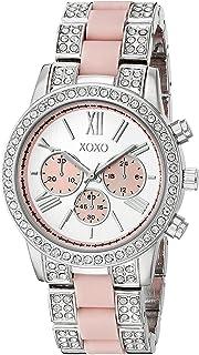 XOXO Womens Quartz Watch, Analog Display and Stainless Steel Strap XO5919AZ