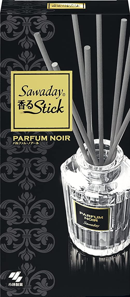 ぐるぐるシャッター散逸サワデー香るスティック 消臭芳香剤 本体 パルファムノアール 70ml