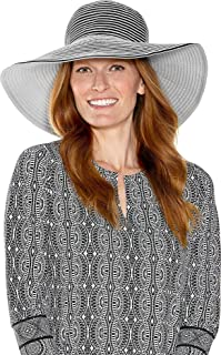 UPF 50+ Women's Compact in A SNAP!™ Ginger Ribbon Hat - Sun Protective