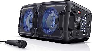 SHARP PS920 - Altavoces Bluetooth Karaoke Party con batería Recargable incorporada, 6 Horas de reproducción, Radio FM, Blu...