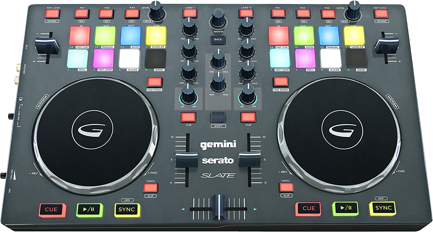 Gemini SLATE 2-Channel National products Serato National products Dj Intro Controller x 10.00