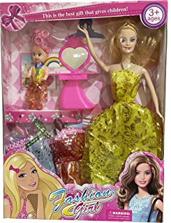 Fashion Girl Barbie Doll Set - 3 Years and Above, Assorted