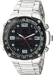 Men's Analog-Quartz Watch with Alloy Strap, Rose Gold, 14...