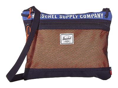 Herschel Supply Co. Alder (Amparo Blue/Peacoat/Vermillion Orange) Handbags