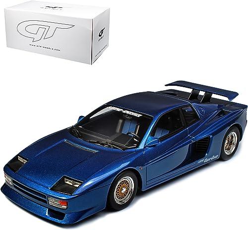 GT Spirit K g Competition fürrari Testarossa Evolution Blau ZM 94 limitiert 1 von 504 Stück 1 18 Modell Auto mit individiuellem Wunschkennzeichen
