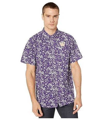 Columbia College Washington Huskies CLG Super Slack Tide Shirt (UW Purple) Men