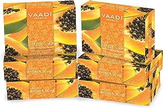 Vaadi Herbals Fresh Papaya Soap, 75g (Pack of 6)