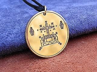 Veve of Baron Samedi amulet, Voodoo talisman (Hoodoo)