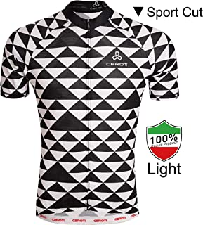 CEROTIPOLAR Custom Apparel Service Men's Cool Summer Cycling Jersey, Bike Jersey UPF50+