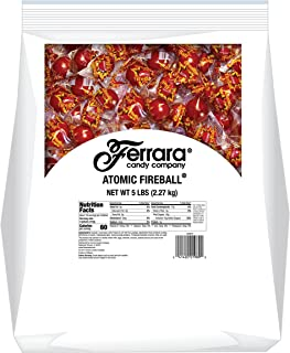 Atomic Fireballs Candy, 5 Pound Bulk Bag