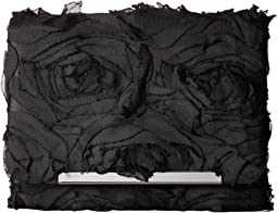 Jessica McClintock - Katie Chiffon Rosette Shoulder Bag Clutch