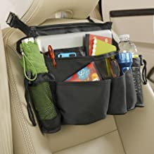 High Road Front Seat Organizer with SwingAway Handles (Black)