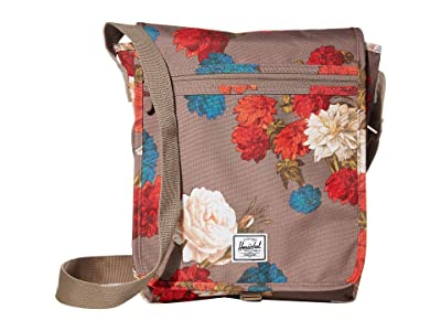 Herschel Supply Co. Lane (Vintage Floral Pine Bark) Messenger Bags