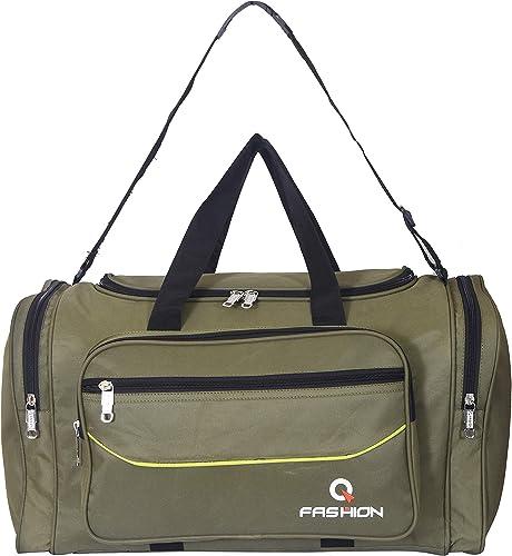 Waterproof Polyester Lightweight Green Duffle Soft Sided 48 L Travel Duffel Bag