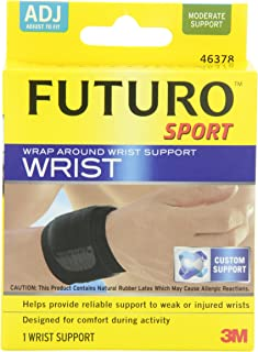 Futuro Sport Wrap Around Wrist Support, Moderate Support, Adjust to Fit