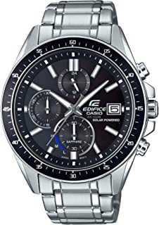 Men's EFS-S510D-1AVUEF Edifice Analog Display Quartz Silver Watch