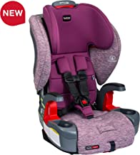 Britax Grow with You ClickTight Harness-2-Booster Car Seat - 2 Layer Impact Protection - 25 to 120 pounds, Mulberry