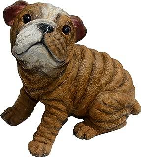 Michael Carr Designs 80106 Bully-Bulldog Puppy Statue, Medium