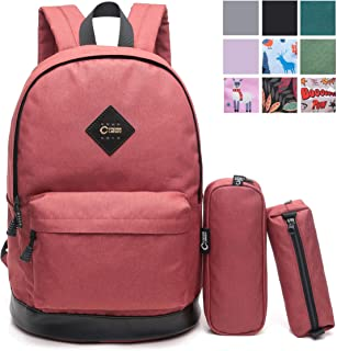 CrossLandy Classic School Bookbag Lightweight College 15