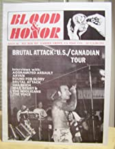 BLOOD AND HONOR USA ISSUE NO. 2 BRUTAL ATTACK BOUND FOR GLORY AGGRAVATED ASSAULT ARYAN DAS REICH MAX RESIST THE VOICE BLOOD AND HONOUR BLUT UND EHRE