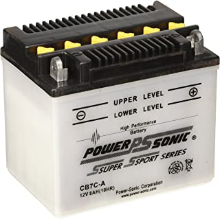 Power-Sonic CB7C-A Conventional Powersport Battery
