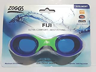 Silicone Swim goggles Blue and green. Ultra comfort Anti-fog system. UV Protection.