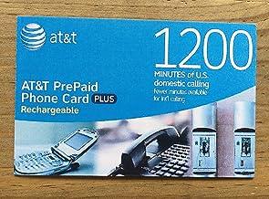 AT&T 1200 Minute Prepaid Phone Card (Calling Card) photo