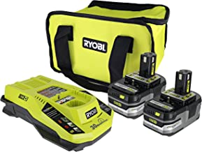 Ryobi P165 One+ Lithium Ion Battery and Charging Kit: Includes 2 x P191 3.0 AH 18V..
