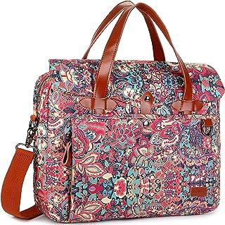 BAOSHA Women's Satchel Messenger Bag Cross Body Shoulder Bag Laptop Bookbag Multicolored YL-02